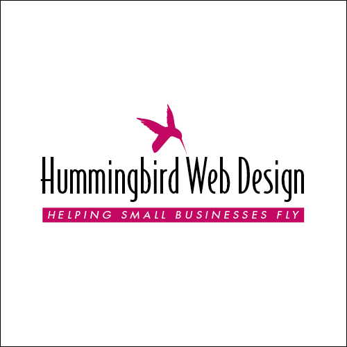 Hummingbird Web Design Logo