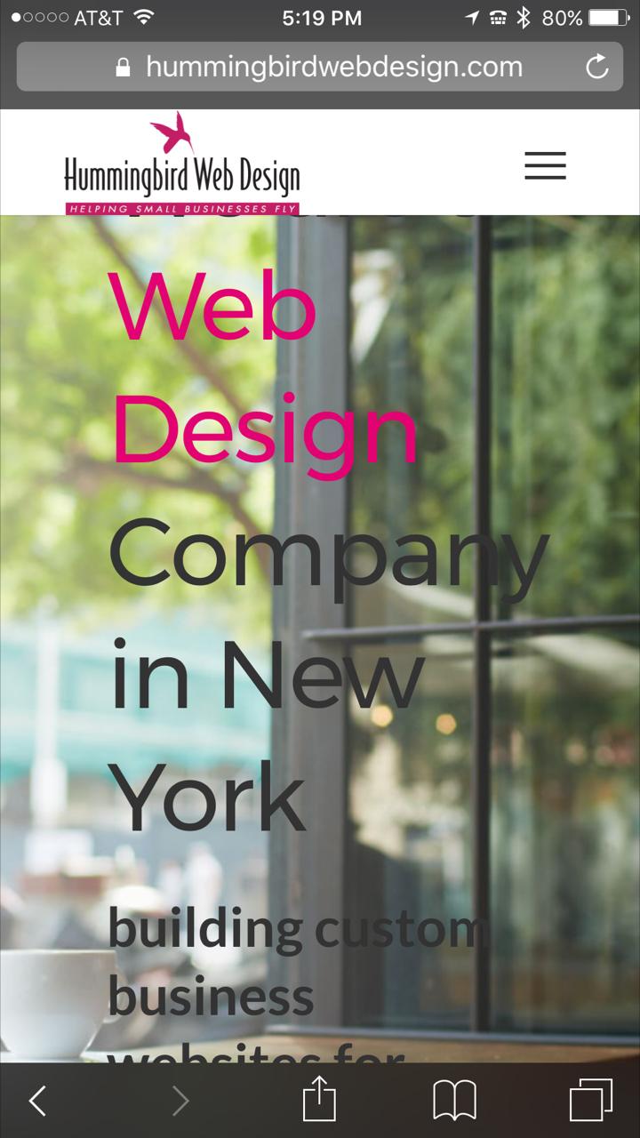 web design company port washington, NY