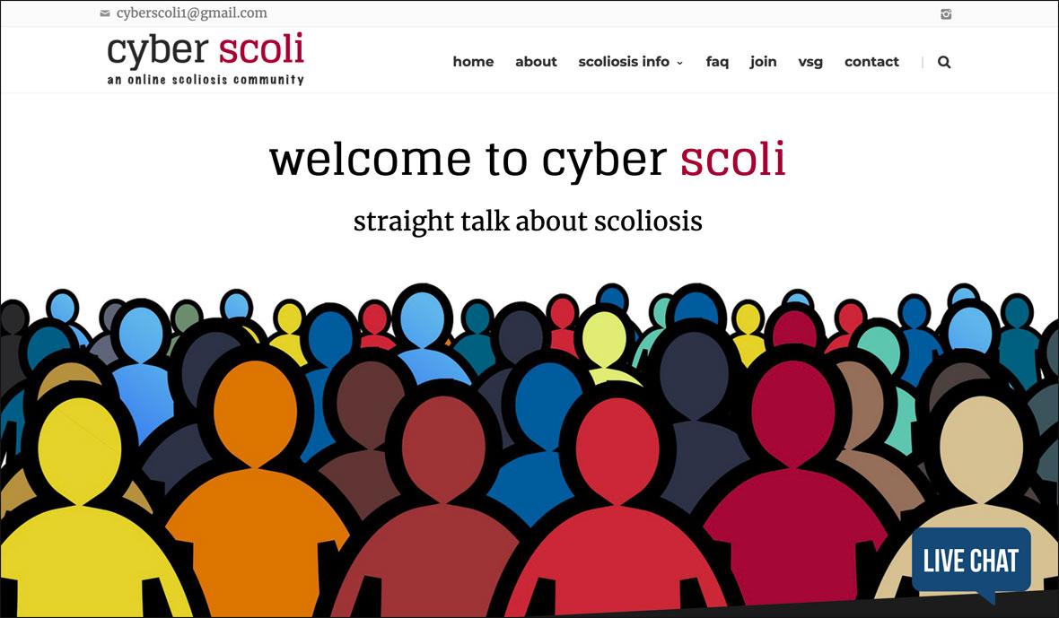 sample of finished website design