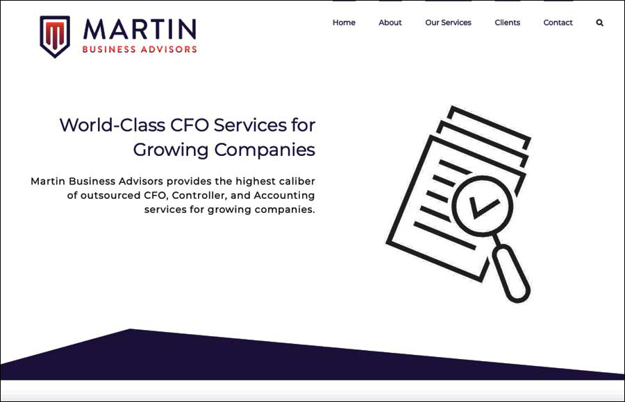 Martin Business Advisor client